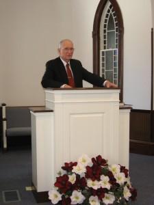 Pastor Laidacker 2-10-13